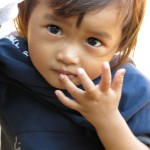 Cambodia little girl