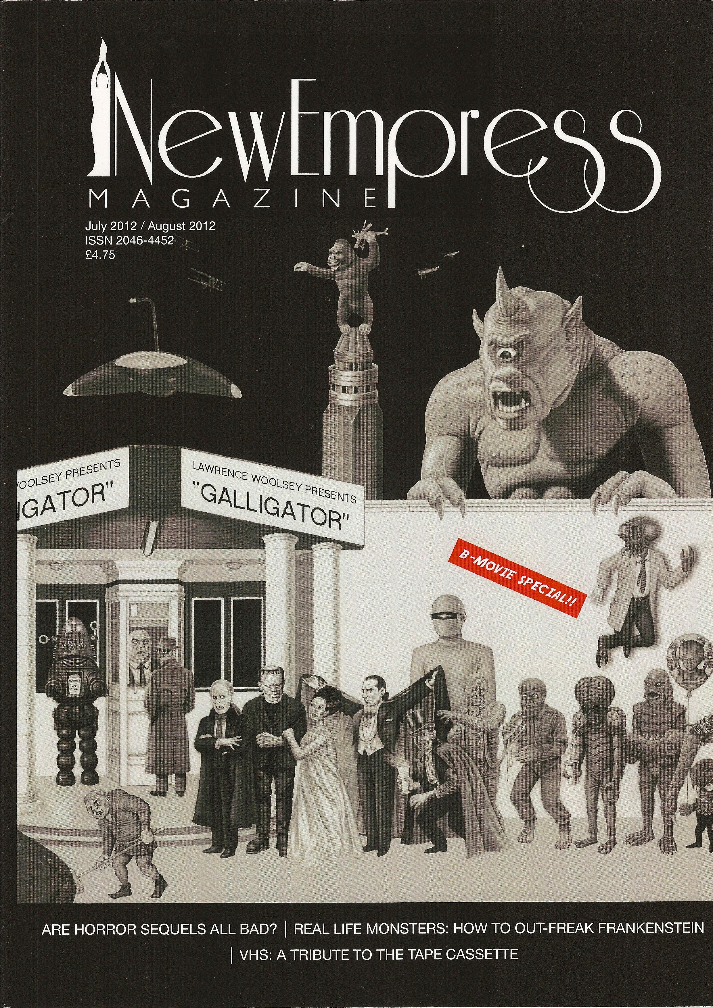 New Empress magazine cover